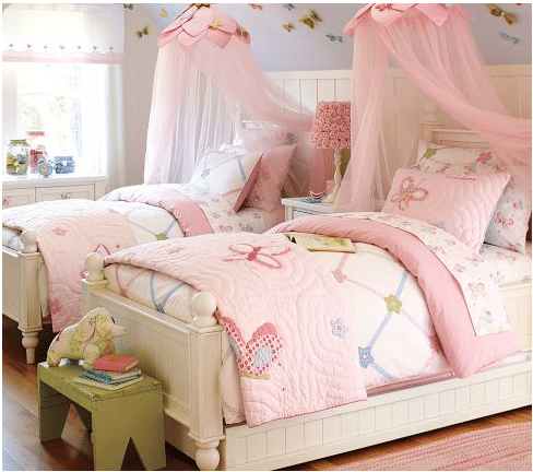 Girls Princess Bed Canopy