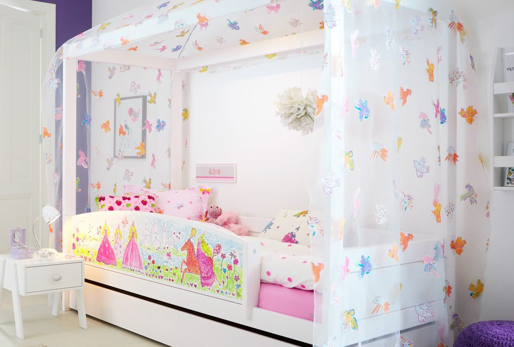 Redecorating Your Daughter's Room with a Girls Bedroom Canopy